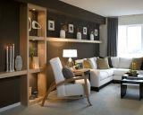 Stylish dark green walls in living room design ideas 59