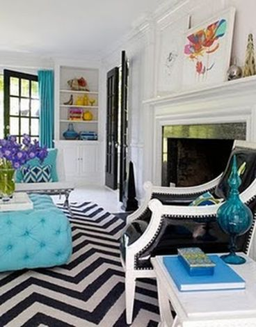 Stylish dark green walls in living room design ideas 62
