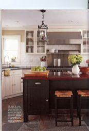 Stylish kitchen designs ideas with corner sinks 01