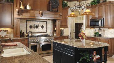 Stylish kitchen designs ideas with corner sinks 25
