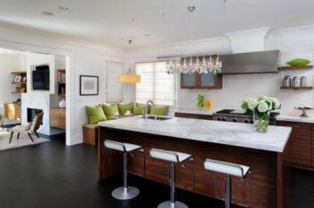 Stylish kitchen designs ideas with corner sinks 28