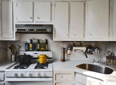 Stylish kitchen designs ideas with corner sinks 30