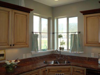 Stylish kitchen designs ideas with corner sinks 38