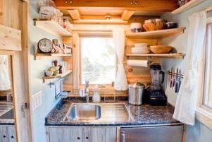 Stylish kitchen designs ideas with corner sinks 40