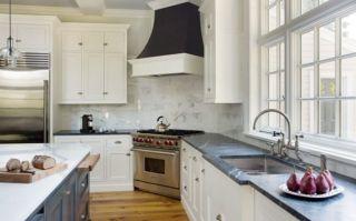 Stylish kitchen designs ideas with corner sinks 42
