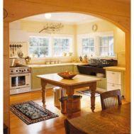 Stylish kitchen designs ideas with corner sinks 50