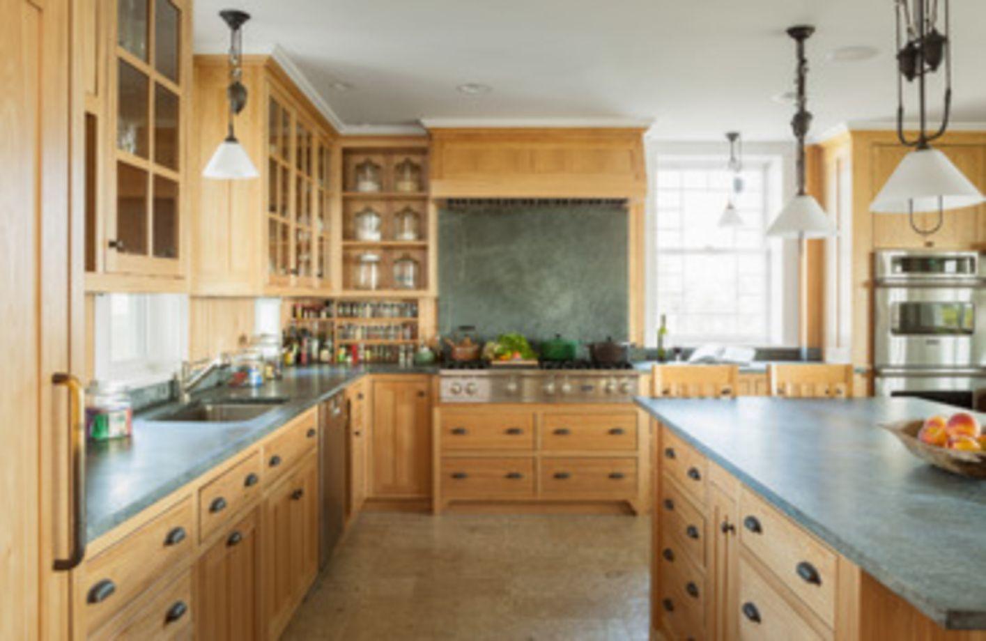 Stylish kitchen designs ideas with corner sinks 51