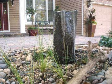 Stylish outdoor garden water fountains ideas 09