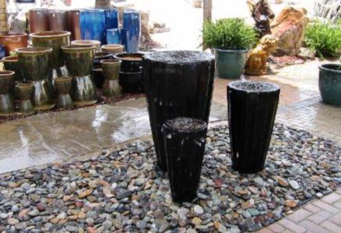 Stylish outdoor garden water fountains ideas 12