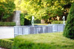 Stylish outdoor garden water fountains ideas 25