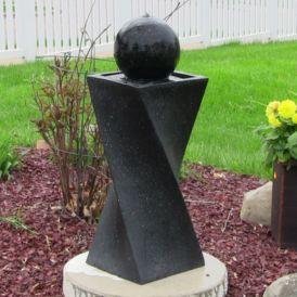 Stylish outdoor garden water fountains ideas 26