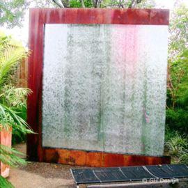 Stylish outdoor garden water fountains ideas 28