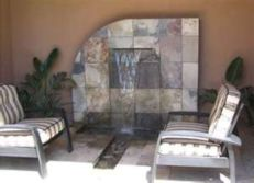 Stylish outdoor garden water fountains ideas 40
