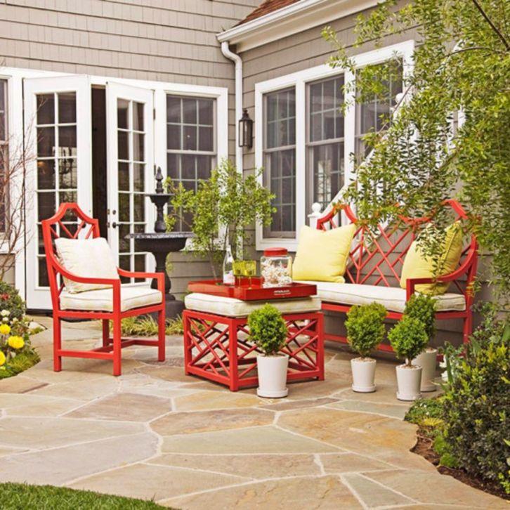 Stylish outdoor garden water fountains ideas 60