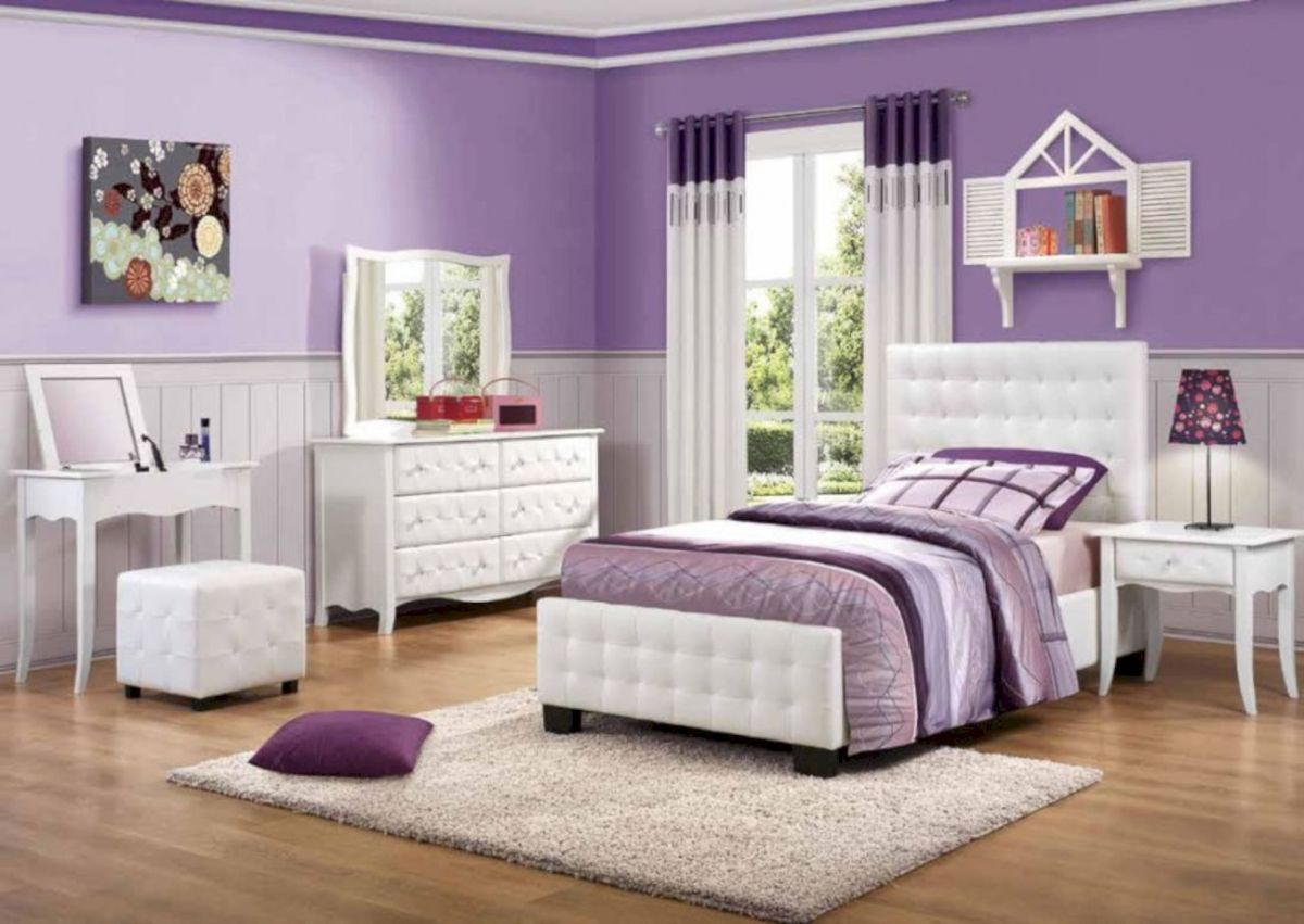 55 Stunning Teenage Girl Bedroom Furniture Ideas