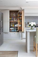 Amazing stand alone kitchen pantry design ideas (12)