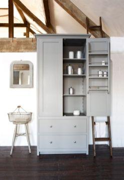 Amazing stand alone kitchen pantry design ideas (15)