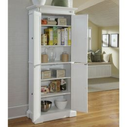 Amazing stand alone kitchen pantry design ideas (17)