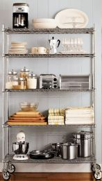 Amazing stand alone kitchen pantry design ideas (18)