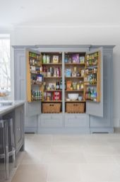 Amazing stand alone kitchen pantry design ideas (3)