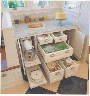 Amazing stand alone kitchen pantry design ideas (31)