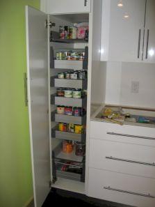 Amazing stand alone kitchen pantry design ideas (55)
