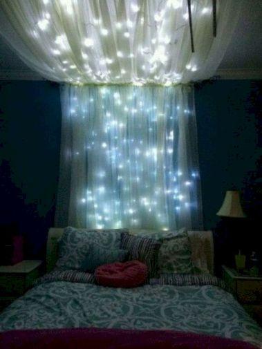 Cozy bohemian teenage girls bedroom ideas (26)