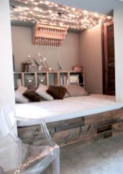 Cozy bohemian teenage girls bedroom ideas (37)