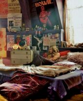 Cozy bohemian teenage girls bedroom ideas (45)