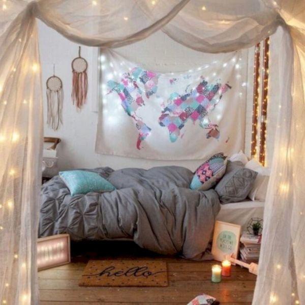 63 Cozy Bohemian Teenage Girls Bedroom Ideas