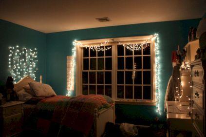 Cozy bohemian teenage girls bedroom ideas (63)