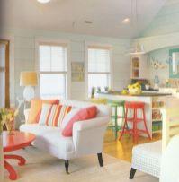 Creative diy beachy living room decor ideas (1)