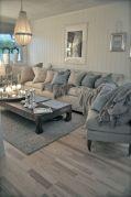 Creative diy beachy living room decor ideas (19)