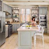 Inspiring u shaped kitchen ideas with breakfast bar (14)
