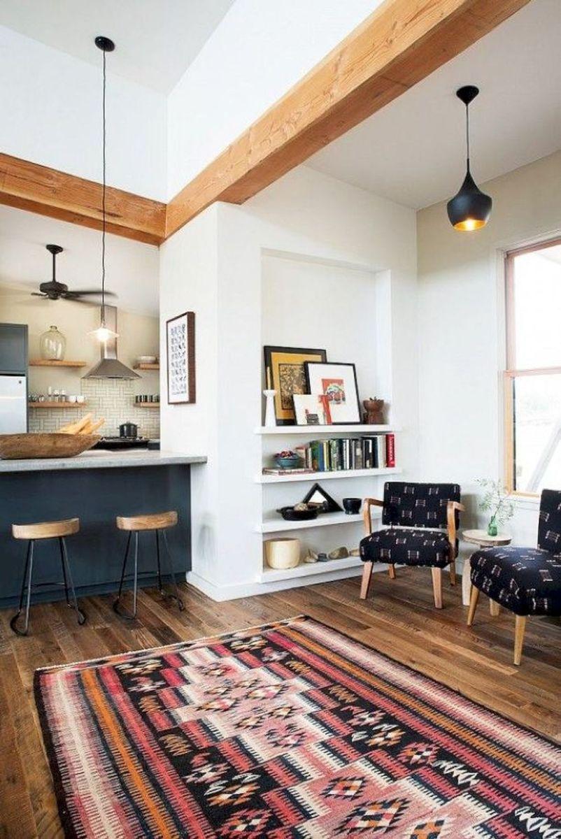 Mid century modern apartment decoration ideas 32