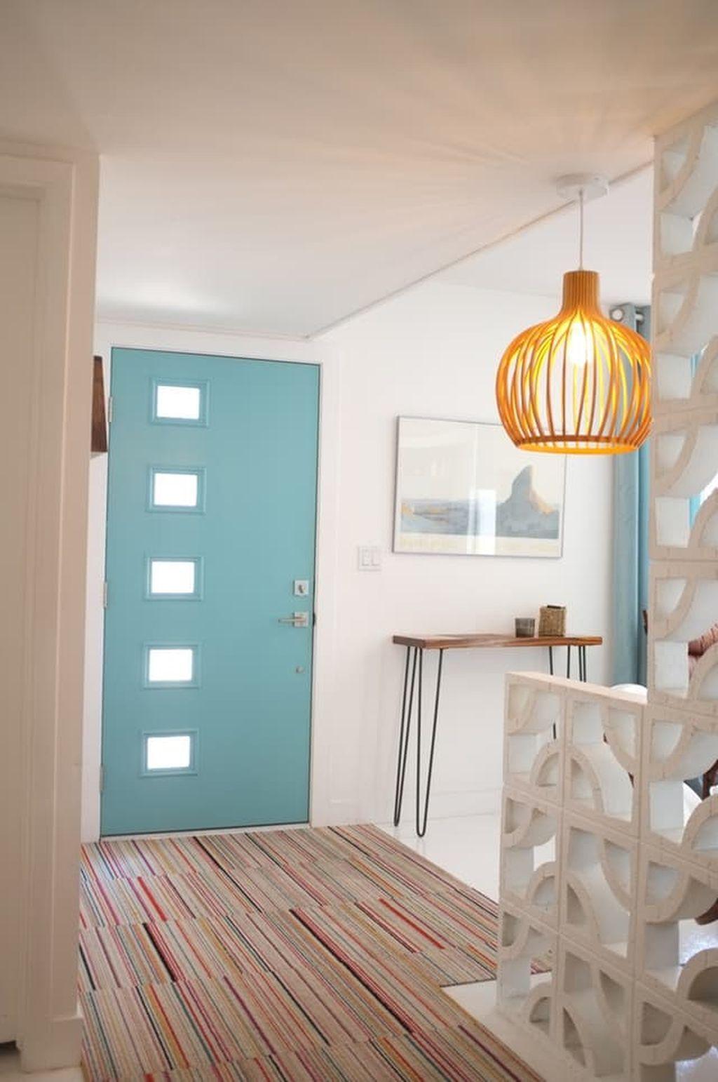 Mid century modern apartment decoration ideas 54