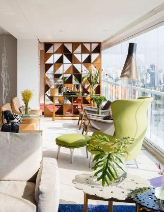 Mid century modern apartment decoration ideas 58