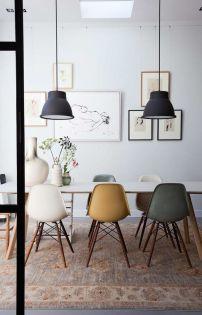 Mid century modern apartment decoration ideas 71