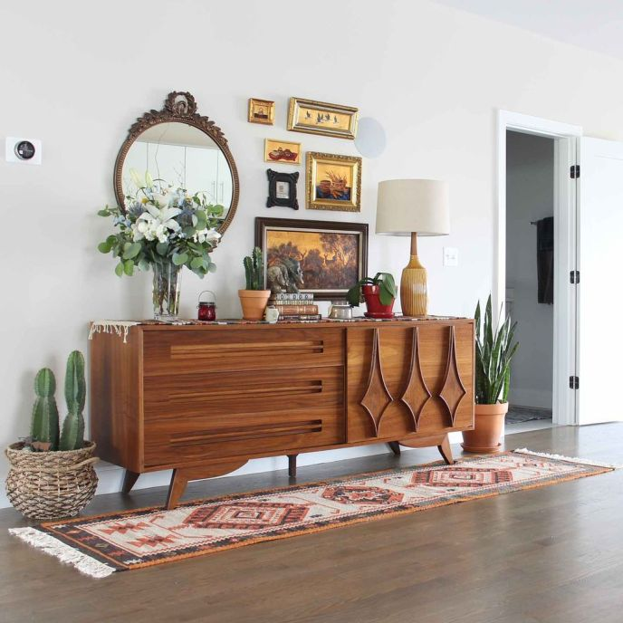 Mid century modern apartment decoration ideas 74