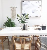 Mid century scandinavian dining room design ideas (19)