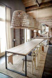 Mid century scandinavian dining room design ideas (2)