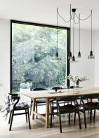 Mid century scandinavian dining room design ideas (21)