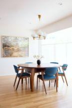 Mid century scandinavian dining room design ideas (31)