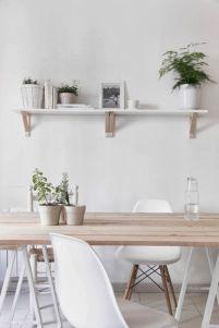 Mid century scandinavian dining room design ideas (34)