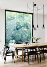 Mid century scandinavian dining room design ideas (39)