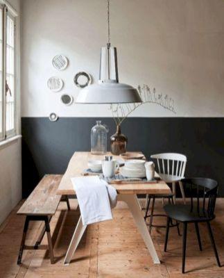 Mid century scandinavian dining room design ideas (43)