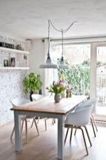Mid century scandinavian dining room design ideas (46)