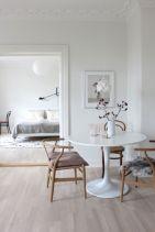 Mid century scandinavian dining room design ideas (52)