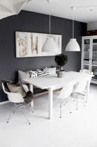 Mid century scandinavian dining room design ideas (6)