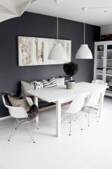 Mid century scandinavian dining room design ideas (6)